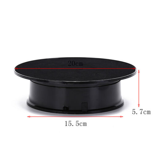 20cm top rotating rotary display stand turntable show holder HDUK
