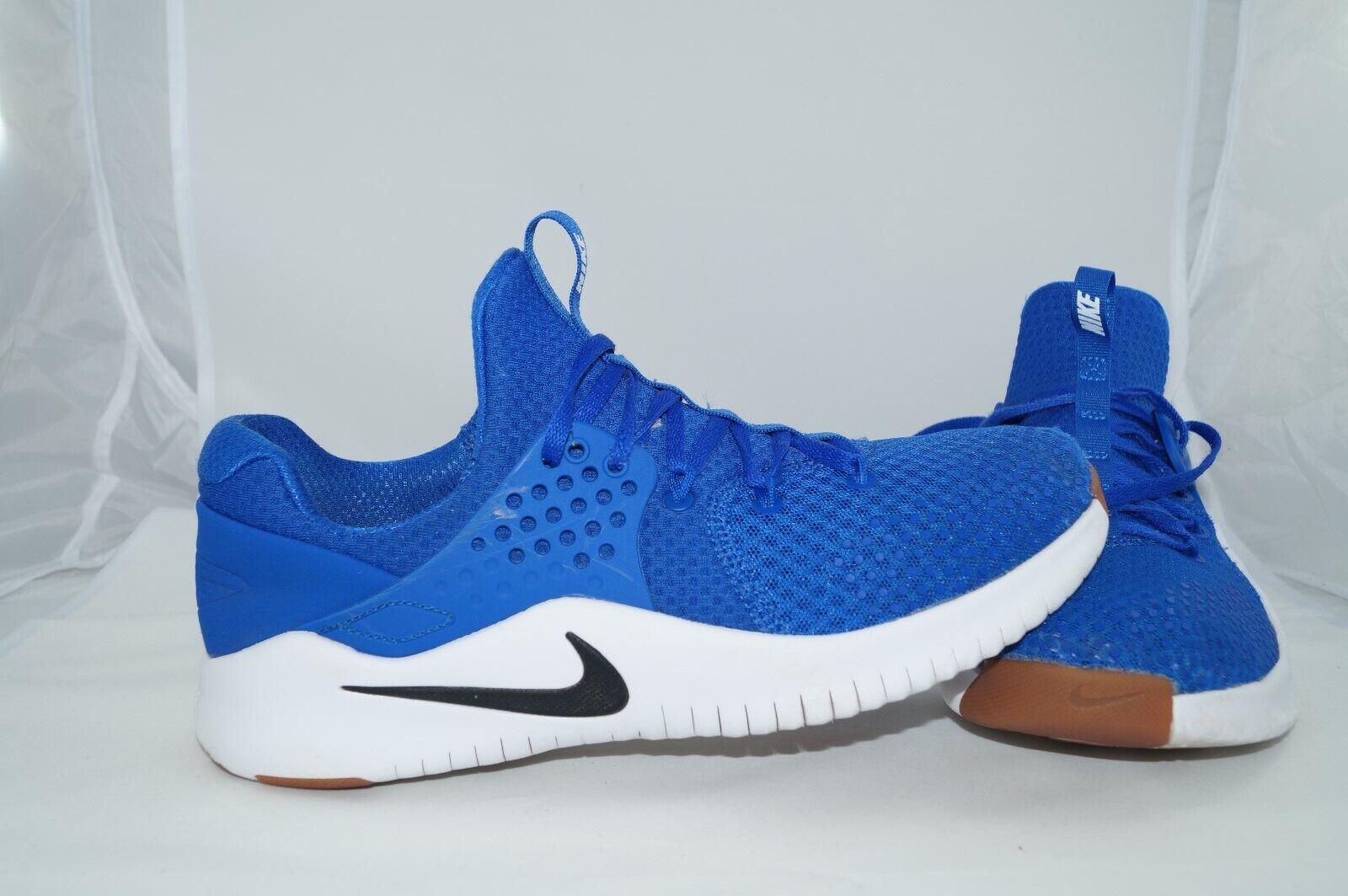 Nike Free TR V8 Trainers EU 42 US 8,5 UK 7,5 Sportschuhe AH9395-401 Blau