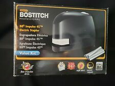 Bostitch B8e Value B8 Impulse 45 Sheet Electric Stapler And Staples Black