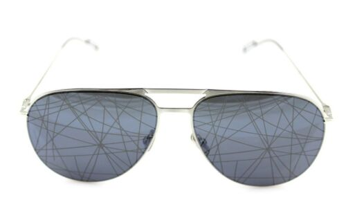 19d0b2eb2eb 2 of 12 RARE NEW Genuine DIOR HOMME 0205S Palladium Black Mirror Pilot  Sunglasses 84J MD