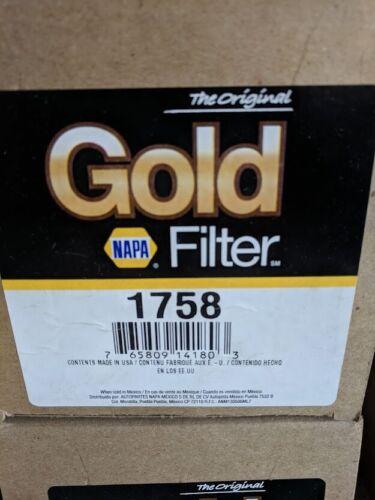 NAPA Gold Oil Filter 1758