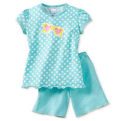 Schiesser Mädchen Schlafanzug Pyjama Kurz Gr.104 116 128 140 152 Nachtwäsche Neu