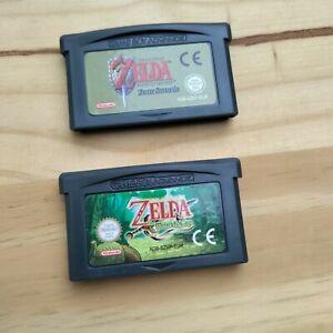 The Legend Of Zelda - Four Swords & The Minish Cap Nintendo GBA Bundle