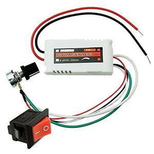 Unique Goods - CCMFC 12V 2A DC Motor Speed Controller Adjustable Variable Speed