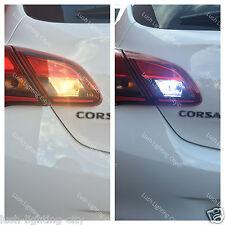 VAUXHALL CORSA E LED REVERSE LIGHT CANBUS ERROR FREE XENON WHITE CORSA E REVERSE