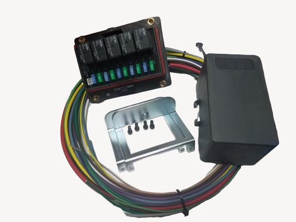 Universal Waterproof Fuse Relay Panel Distribution Cooper Bussmann ... bussmann fuse relay box eBay