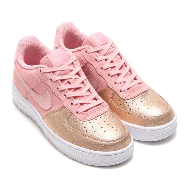 Details about Nike AF1 Air Force 1 Pink Rose Gold Toe Jordan 1 QS PINK AH8147 600 7Y,WOMEN 8.5