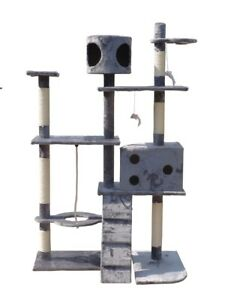 Cat-Tree-Activity-Centre-Scratcher-Scratching-Post-Toys-Bed-with-Cat-Nip