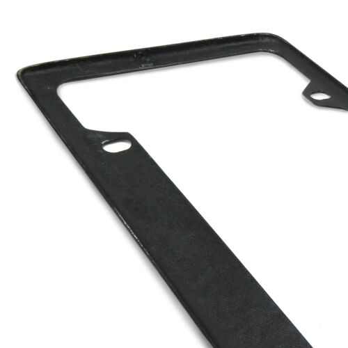 Dodge Durango Real 3K Black Carbon Fiber 50 States License Plate Frame