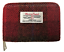 HARRIS-TWEED-PURSE-ZIP-WALLET-POUCH-ID-COIN-CASE-TARTAN-PINK-RED-GIFT thumbnail 1