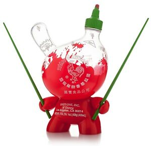 Kidrobot-Sketracha-8-Inch-Sket-One-LE-Dunny-Figure-Half-Empty-Clear-Version-NEW