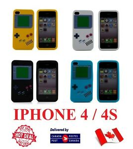 IPHONE-4-4S-4G-4GS-GAMEBOY-SILICON-LUCK-PHONE-CASE-GAME-BOY-COVER-FOR-APPLE-NEW