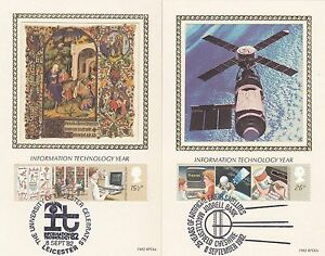 (46898) GB Benham FDC IT Information Technology Postcard set 8 September 1982