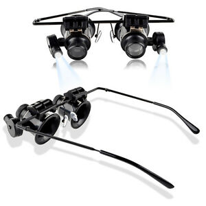 20x-Jewelers-Magnifier-Magnifying-Glasses-Eyeglasses-for-Gold-Diamond-Jewelry