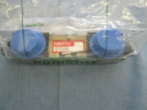 Numatics Model:  031SS4002 Solenoid Valve Assembly w/ (2) 237-961B.  <