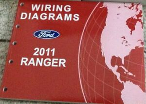 2011 ford ranger electrical wiring diagrams service shop repair rh ebay com 2011 polaris ranger wiring diagram 2011 polaris ranger 800 xp wiring diagram