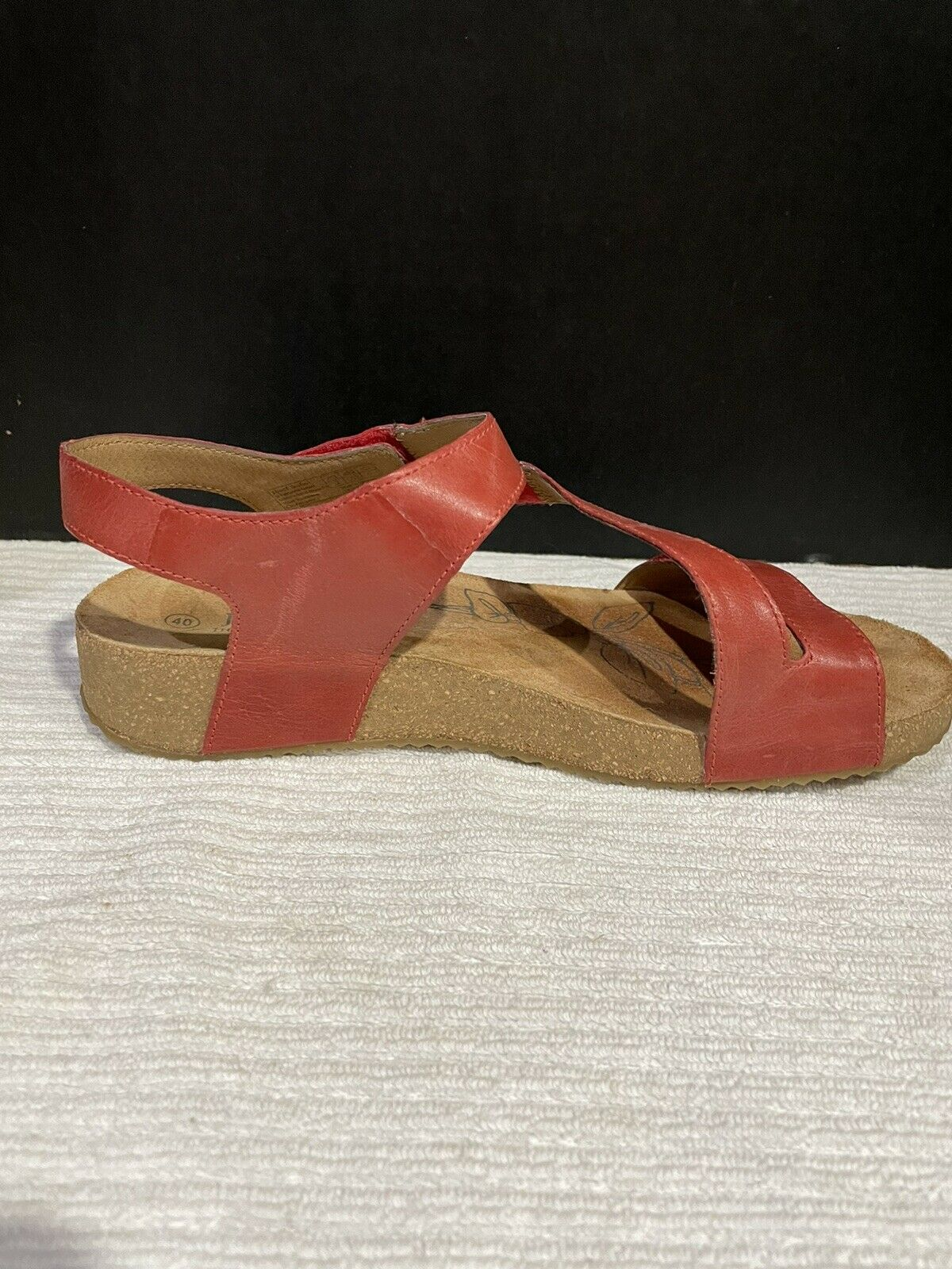Josef Seibel Tonga  Womens Strappy Sandals In Red - image 6