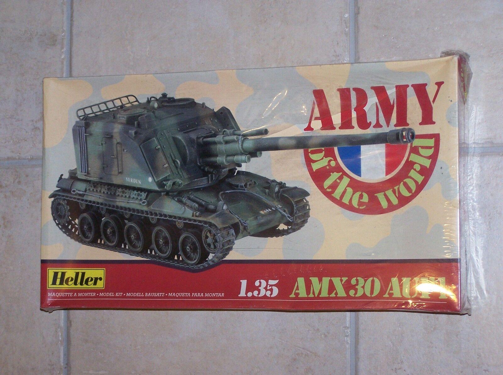 Maquette HELLER 1 35ème AMX30 AUF1