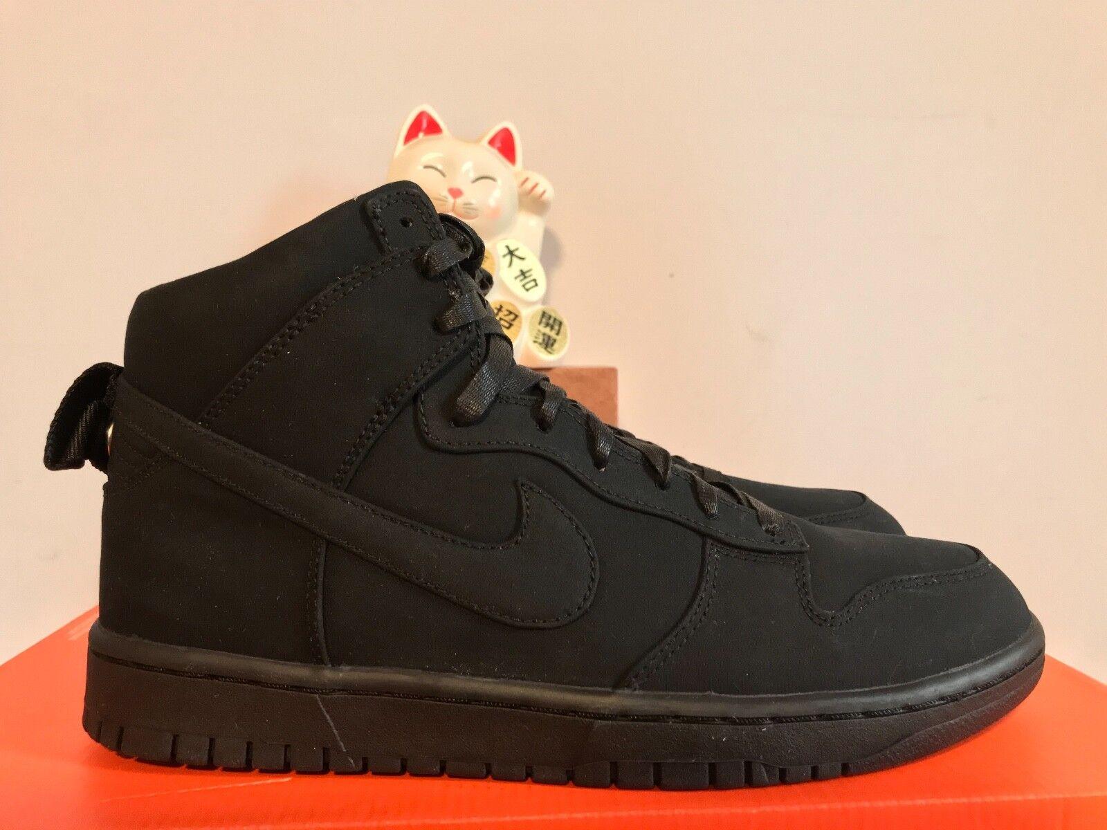half off 24ea3 7d29e Nike canestro alto lux   sp   lux dsm dover street mercato nero nuovo Uomo  9,5 ...