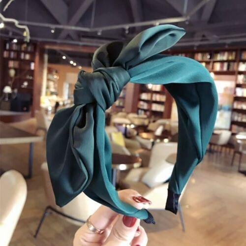 Headwear Headwrap Cross Hair Knot Hoop Bow Girl Twist Lady Headband Fashion Band