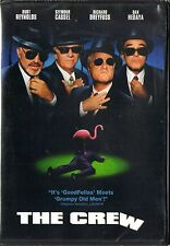 The Crew (DVD, 2001) BRAND NEW  PG-13 Richard Dreyfuss, Burt Reynolds