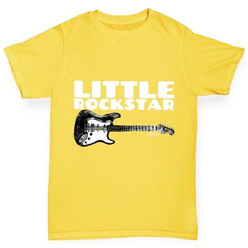 Twisted Envy Little Rockstar Girl/'s Funny T-Shirt