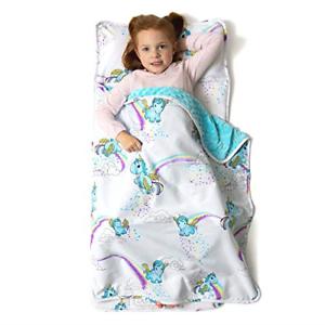 Details About Little Jos Toddler Nap Mat Childrens Sleeping Bag Removable Pillow Preschool