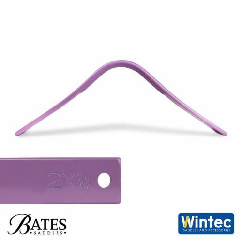 Bates//Wintec Easy-Modifier Selle Gosier système gullets Toutes largeurs Narrow 4XW