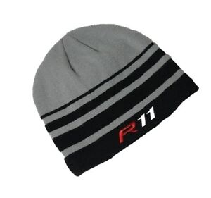 New TaylorMade Golf R11 Grey   Black Winter Beanie Hat with ... 2a3a58a9281a