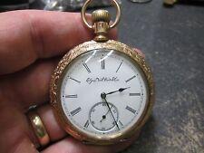ELGIN FANCY GOLD FILLED CASE RUNNING Pocket Watch