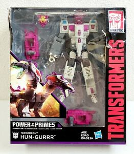 "Transformers Power of the Primes Voyager Hun-Gurrr Action Figure 6/"" Toy New"