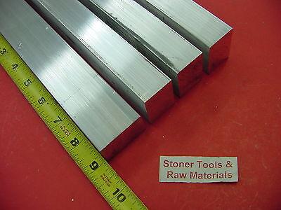 "1/"" X 2-1//2/"" ALUMINUM 6061 FLAT BAR 12/"" long T6511 1.00/"" Solid Plate Mill Stock"