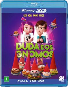 Blu Ray 2d 3d Duda E Os Gnomos Gnome Alone Audio English 1 Disc Set Ebay