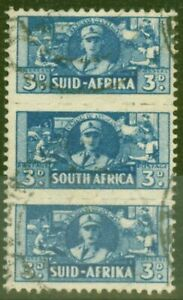 South-Africa-1942-3d-Blue-SG101-Fine-Used