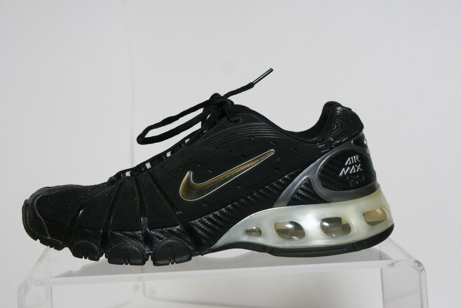 Nike air max. 180 '06 läuft sneaker athletic multi multi multi - schwarze 8,5 hippen retro deb389
