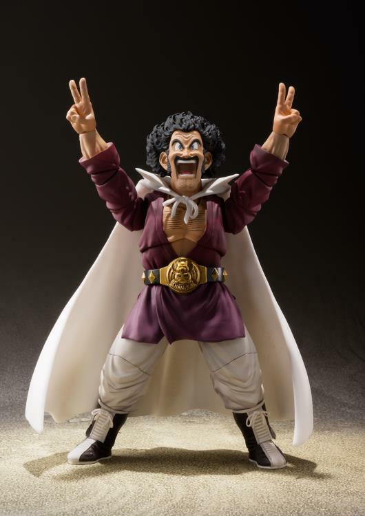 NEW S.H.Figuarts Dragonball Z Super Mr Satan Action Figure Hercule READY TO SHIP