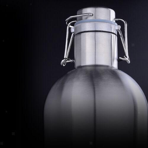Metall Flachmann Taschenflasche Trinkflasche
