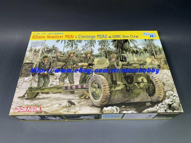 DRAGON 6499 1//35 U.S 105mm Howitzer M2A1 /& Carriage M2A1
