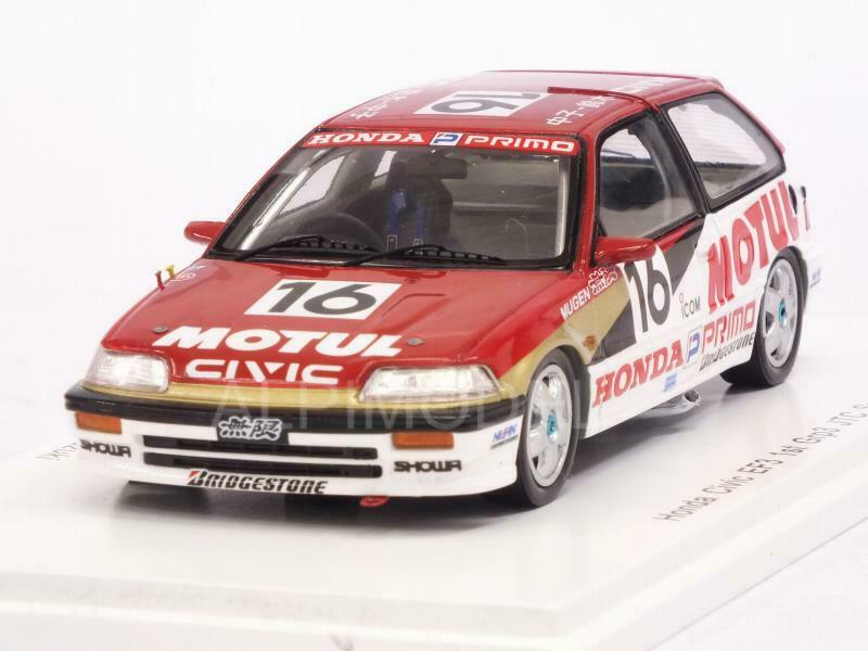 Honda Civic EF3 Mugen Motul Winner Grp3 JTC Sugo 1989 Nakak 1 43 SPARK S5454