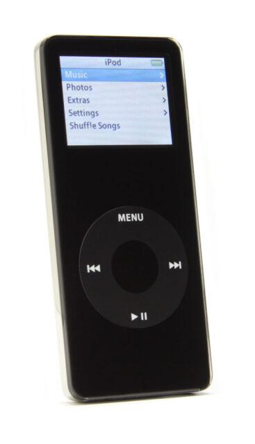 Apple Ipod Nano 1st Generation Black 1 Gb For Sale Online Ebay