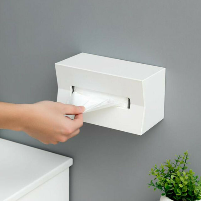 JW/_ AU/_ Tissue Box Paper Towel Case Living Room Desk Car Napkin Holder Home De