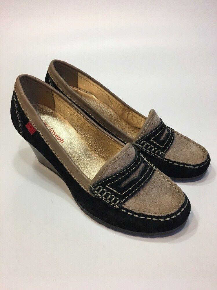 Marc Joseph NEW York Penny Loafer Union ST 6 Wedges Schuhes Damenschuhe Größe 6 ST M 84d4a9