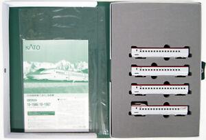 Kato-10-1567-Series-E6-Akita-Shinkansen-039-Komachi-039-4-Cars-Add-on-Set-N-scale