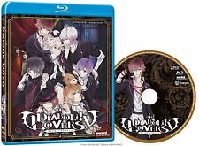 Diabolik Lovers . The Complete Series Collection . Anime . Blu-ray . NEU . OVP