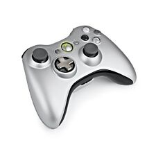 XBOX 360 MOD 13 MODE Rapid Fire Wireless Controller silver special custom LED's