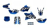 Yz85 Graphics 2002-2014 Yz 85 Dirt Bike Deco Kit 2500 Blue Free Customization
