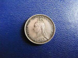 Victoria Silver Groat 1888 S.3930 aEF grade