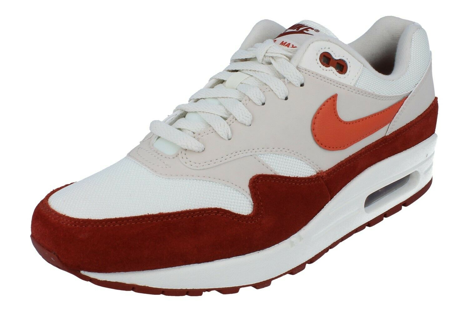 purchase cheap f42f1 6f852 Nike Air Max 1 Mens UK Size 10 Sail/vintage Coral-mars Stone for ...