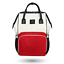 LAND Large Baby Diaper Backpack Mommy Changing Bag Mummy Nappy WhiteRed
