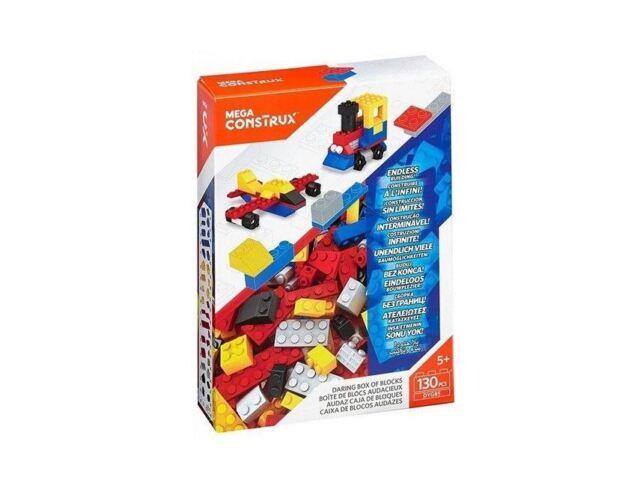Mega Construx Daring Box of Blocks 130pcs Medium Blocks